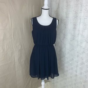 Bcx drees navy blue hight waist size medium